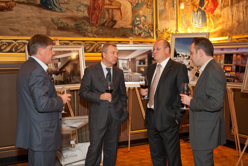 Igor Mazepa invited international Bankers from Julius Baer for Concorde Capital Reception 2011. Photo#6
