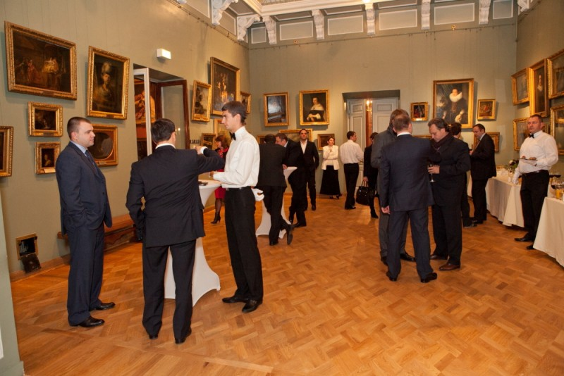 Igor Mazepa invited international Bankers from Julius Baer for Concorde Capital Reception 2011. Photo#7