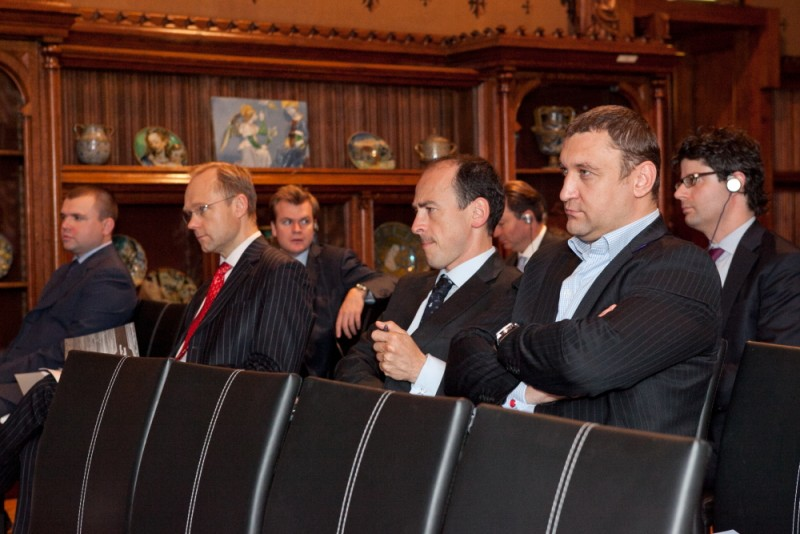 Igor Mazepa invited international Bankers from Julius Baer for Concorde Capital Reception 2011. Photo#9